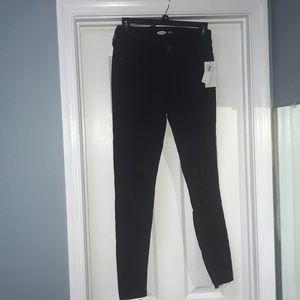 Black Old Navy Rockstar skinny size 6